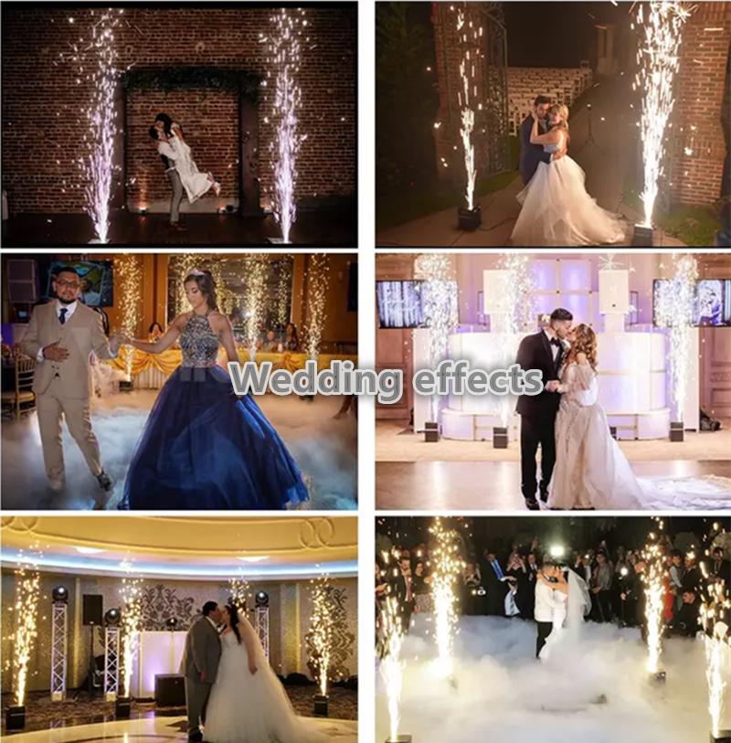Indoor Spark Stage Effect Wedding Occasion Cold Sparkler Fireworks Fountain Machine Original Manufacturer