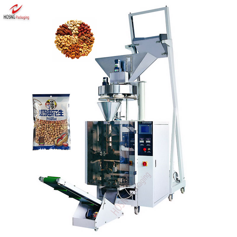 Full Automatic Small Snack Food Granule Vertical Auto Packing Machine Filling Machines With Measure Cups For Granule