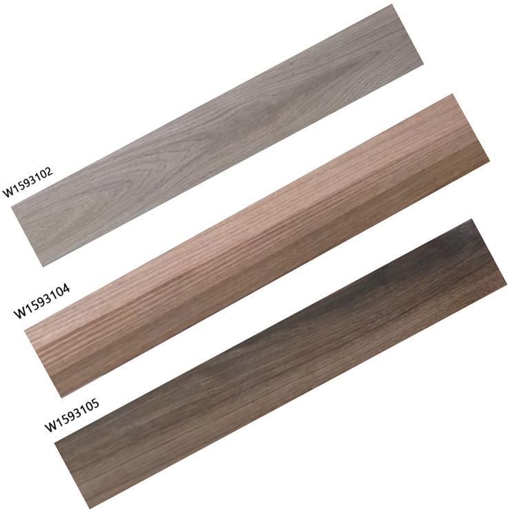 Bois foncé carreaux de porcelaine frais grès carreaux de sol avec marron effet 150*900mm pour le salon