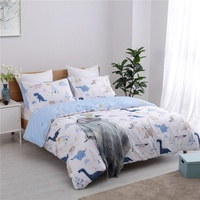 promotional 100% Cotton king size printed bedding duvet cover set