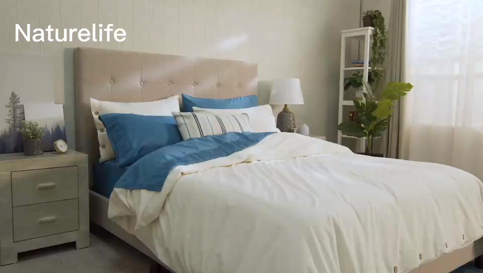 Bán Hot Durable Kem 100% Cotton Rửa Bộ Đồ Giường Duvet Cover Set Cho Khách Sạn Du Lịch