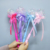 Hot sale Products kids Fairy stick glowing children toy magic wand flash mini bobo balloon luminous toy stall drain wave ball