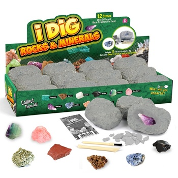 Christmas Gift Digging It Out Fossil Children Learning Toy Diy Science Kits for 10th Class