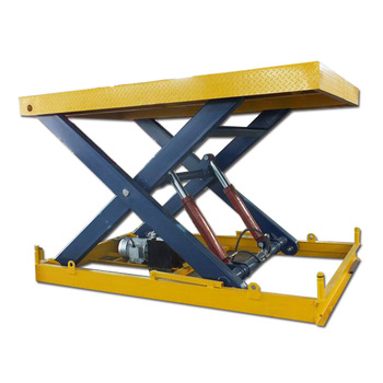 10m 8000kg stationary platm best quality and novel design car scissor lift for sale