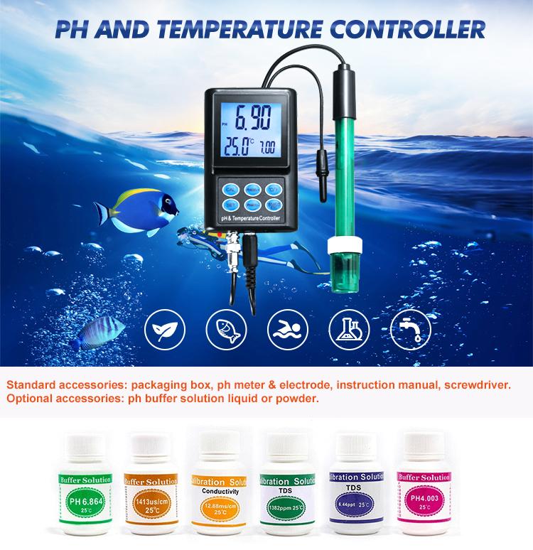 Máy phân tích chất lượng nước PH Máy đo ph ORP TDS Máy đo muối PH Bộ điều khiển PH
