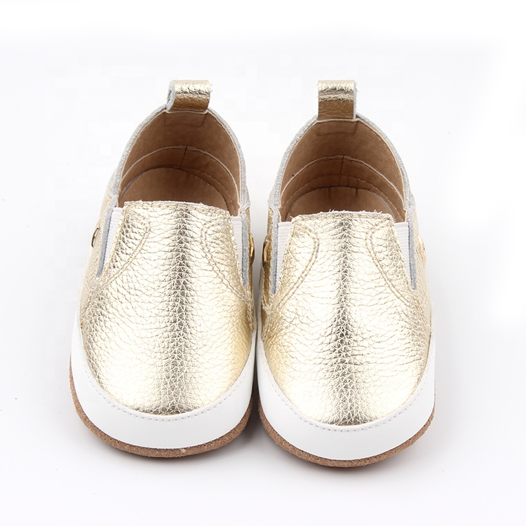 Suede Leather Outsole Baby Casual Shoes New Design Baby Shoes