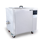 Digital industrial ultrasonic cleaner 40L for car accessories engineering spare parts, stamped parts, fuel injectors ect.
