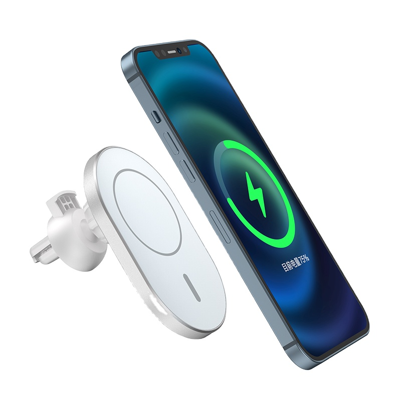 WiWU Mount Fast Charger on contact Car magnetic Wireless Charger CH-306