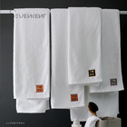 Towel Terry Luxury 5 Star Hotel Hand Face Bath Towel Bed Sheet 100% Cotton 500gsm Pool Microfiber White Terry Bathroom Towel