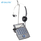 Hands-Free Noise Cancelling Call Center Telephone Headset Contact Center Headset And Desk Phone business