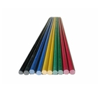 Colorful and light weight pultruded fiberglass broom stick