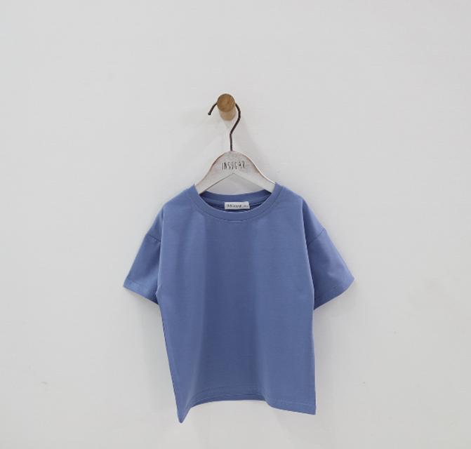 2019 niños lindo de los niños de color o cuello Camiseta de manga corta