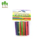Wooden Sticks Art Wood Stick Arts And Crafts Eco-Friendly Colorful Wooden Round Sticks Art Craft Sticks