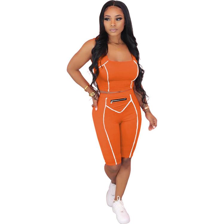 PH-206551 المهرولين للنساء الملابس أحدث تصميم 2020 2020 امرأة اثنين قطعة مجموعة النساء طقم رياضي
