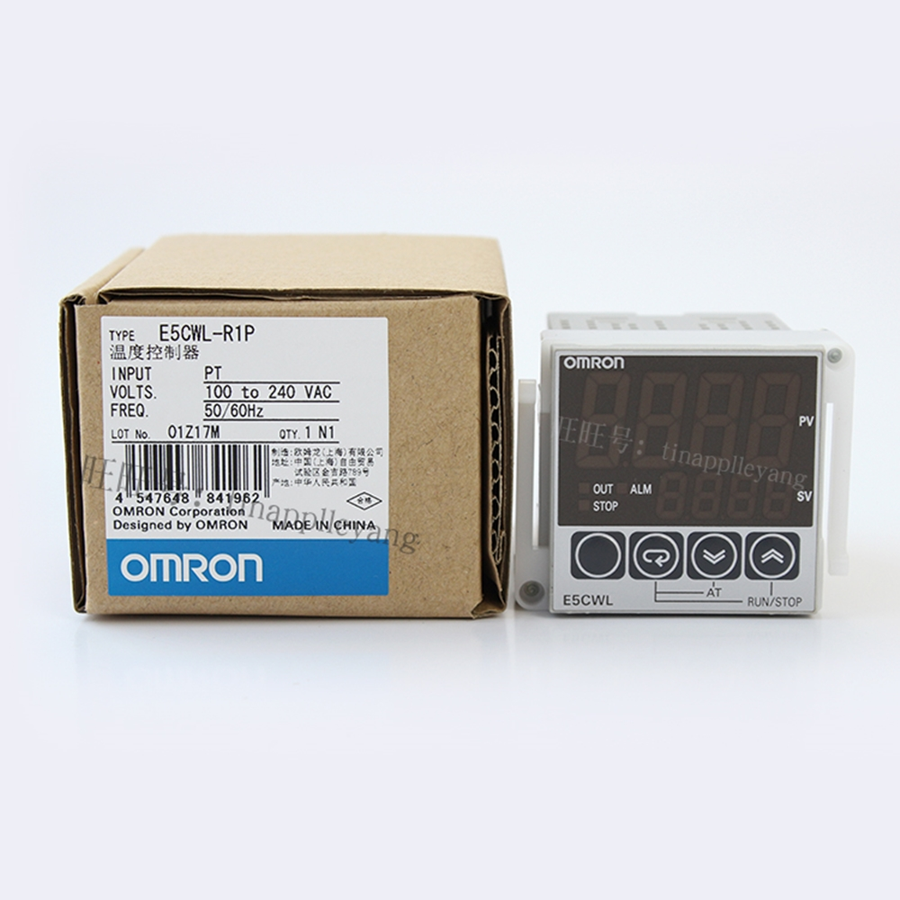 Omron Temperature Controller E5CWL-Q1TC 100-240VAC New in Box