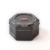 Factory Supply Black Hexagon Metal Hexagon Tin Can With Cover Lid