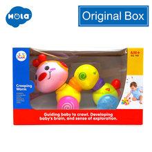 HOLA 997 музыкальные игрушки для детей 13-24 месяцев, Обучающие Детские Игрушки для раннего развития, прессованные и ползающие игрушки для детей, ...(Китай)