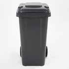 dumpsters recyclable, advertising trash can, 120l 240l plastic waste bin/