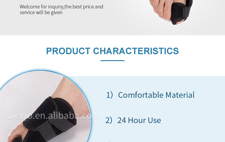 Soft Bunion Splint Corrector Hallux Valgus Straightener Foot Big Toe Support Brace Toe Separator Splint Correction
