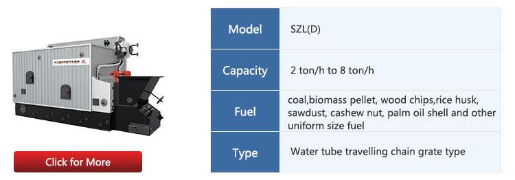 DZH4-1.25-T wood firewood log fired industrial steam boiler