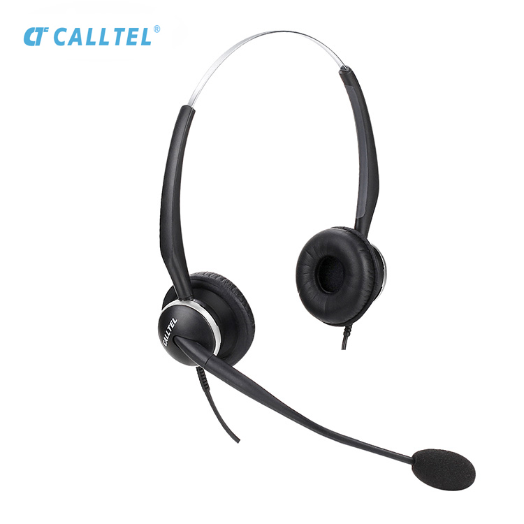 Call Center QD Telephone Headset With Usb Options And 3.5mm