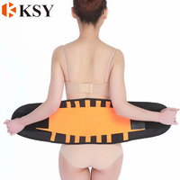 Working Lumbar Belt Thermal slim waist trainer lower back support brace for lower back Spine pain belt