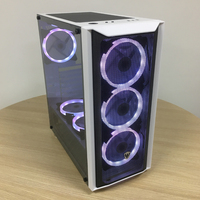 SATE(K382)E-ATX ATX ITX gaming computer case with 8 fan High Quality Nice OEM PC desktop tower gaming case