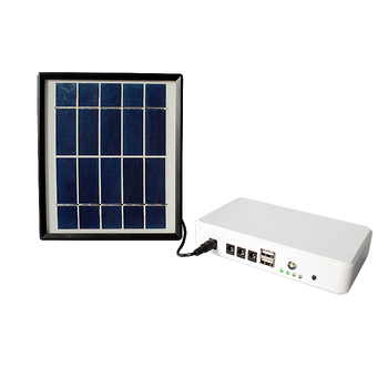 New products Solar DC system energy power bank for charging cell phone for outdoors and camping lighit