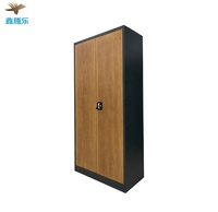 High quality customized Hot Transfer Steel Cabinet Wardrobe Office Furniture simple designs manufacturer