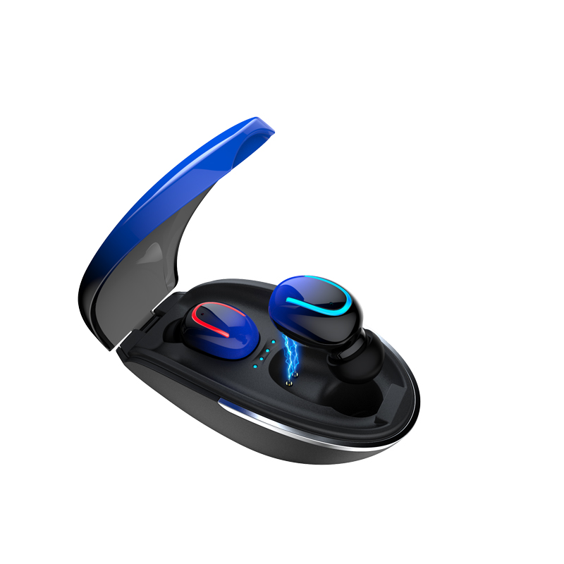 Tws Wireless Earphone Q13 Earbud Earphone 600M Ah Pengisian Kotak LED Display Tangan Gratis