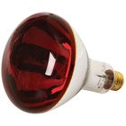 red brooder infrared led heat lamp bulb light for pigs poultry animal chicks farm R125 150W 250W IR