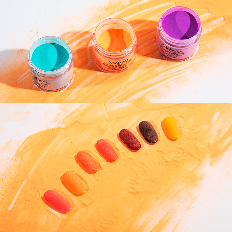 Private Label Nail Dipping Powder Starter Kit 6 Colors Manufacture wholesale French Dip Acrylic Nails Powders Set System