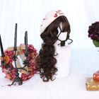 Dalaohome Wholesale Ombre Synthetic Long Wave Lolita Wigs For Woman Halloween Straight Natural Cosplay Synthetic Hair Wig
