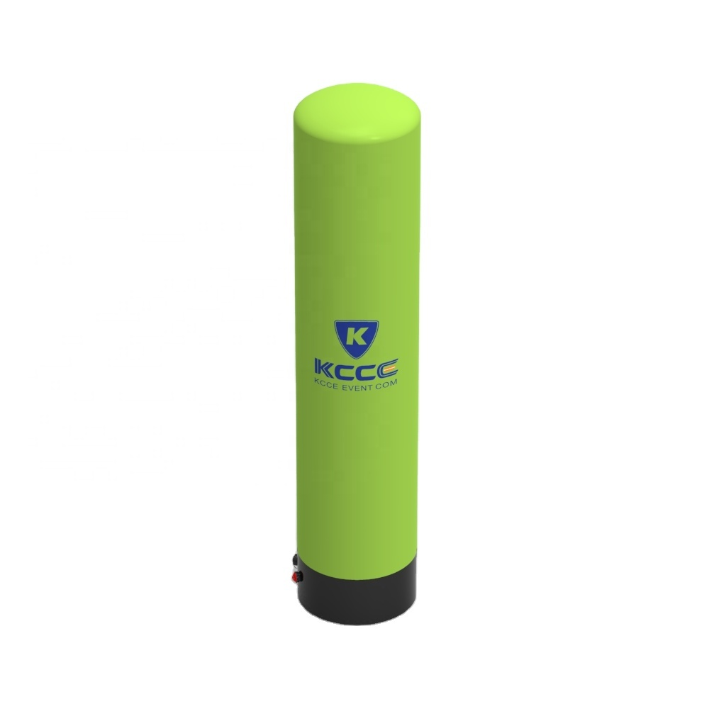 10'ft customized inflatable pillar cylinder, inflatable lighting tubes