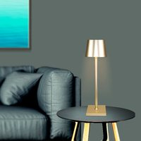 Modern nordic bedside charging table lamp hotel room light