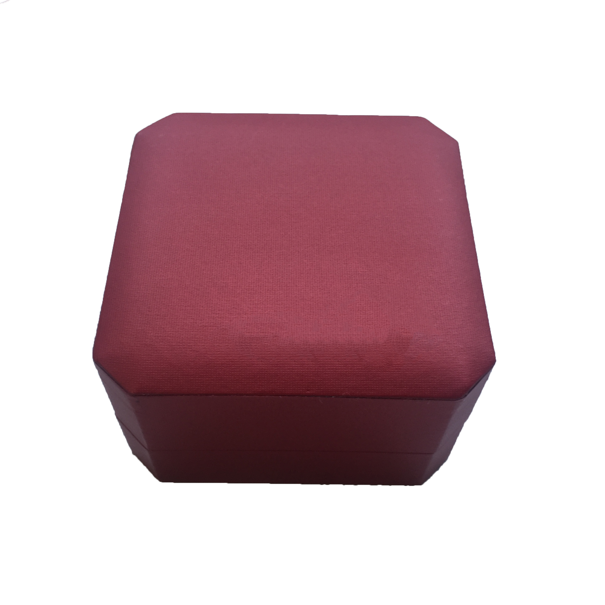 product-Dezheng-Small size square luxury red ring boxes paper cardboard jewelry packaging box with l-1