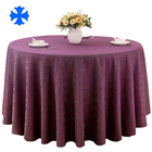 Top selling customized fancy satin jacquard tablecloth