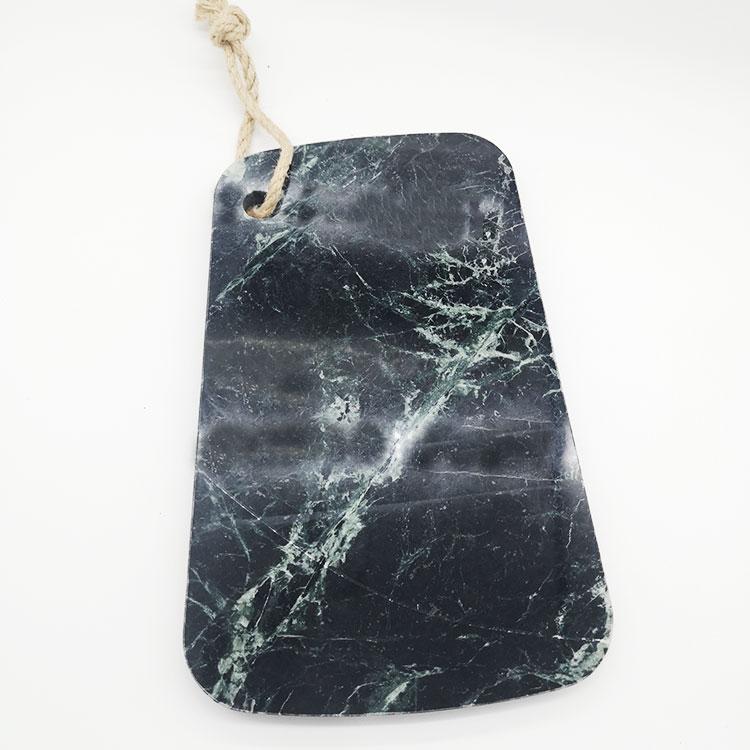 Örnek ücretsiz 2020 fabrika toptan siyah ahşap peynir tahtası mermer peynir tahtası kesme Servng kurulu yemek tabağı ev eşyaları seti