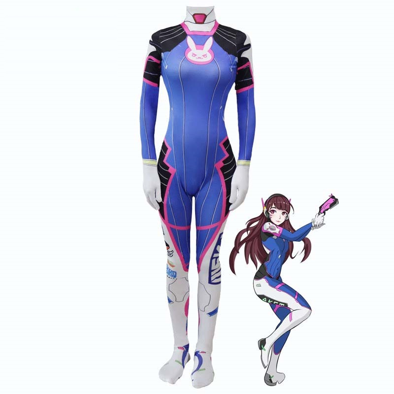 Spel Hoofdpersoon DVA Cosplay Waterdichte Tattoo Stickers DVA Cosplay Loli