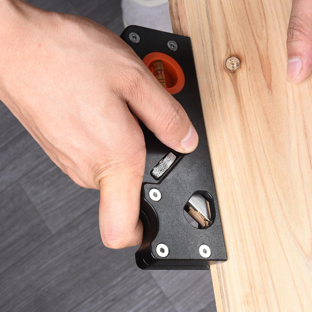 Aluminum alloy Woodwork Hand Planes Hard Wear Resistant Flat Hand Plane