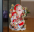 New Design Merry Christmas Delicate Santa Claus Wall Sticker 3D Crafts Lenticular Christmas Sticker