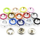 Garment accessories metal prong baby snap button