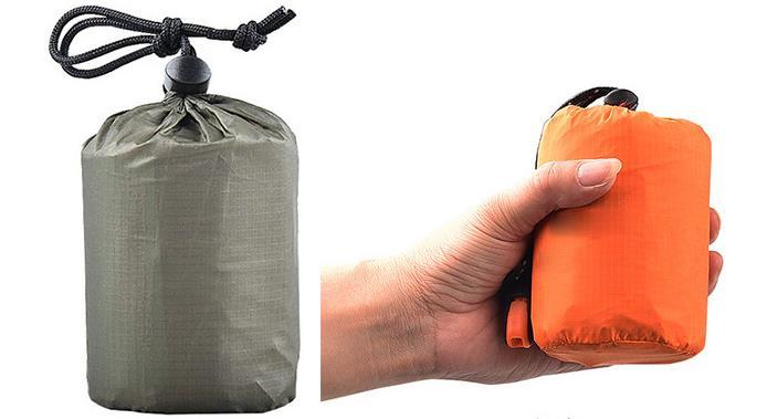 Waterproof Outdoor Travel Camping Bivvy Emergency Survival Adult Sleeping Bag