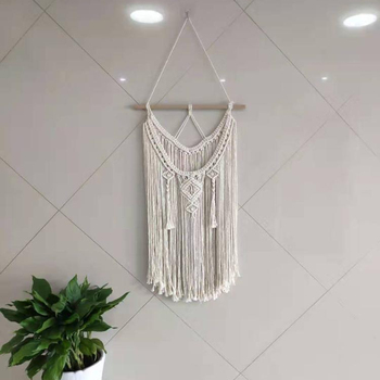 Bohemian Tapestry Tenture Wedding Boho Tassel Wall Hanging Macrame Home Decor