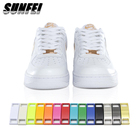 New Zinc alloy Shoe Decorations metal dubraes custom logo Sneakers accessories af1 shoelace lock Sneakers charm
