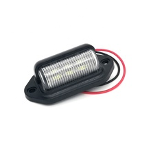Hot koop Auto nummerplaat <span class=keywords><strong>verlichting</strong></span> DC9-30V led kentekenverlichting