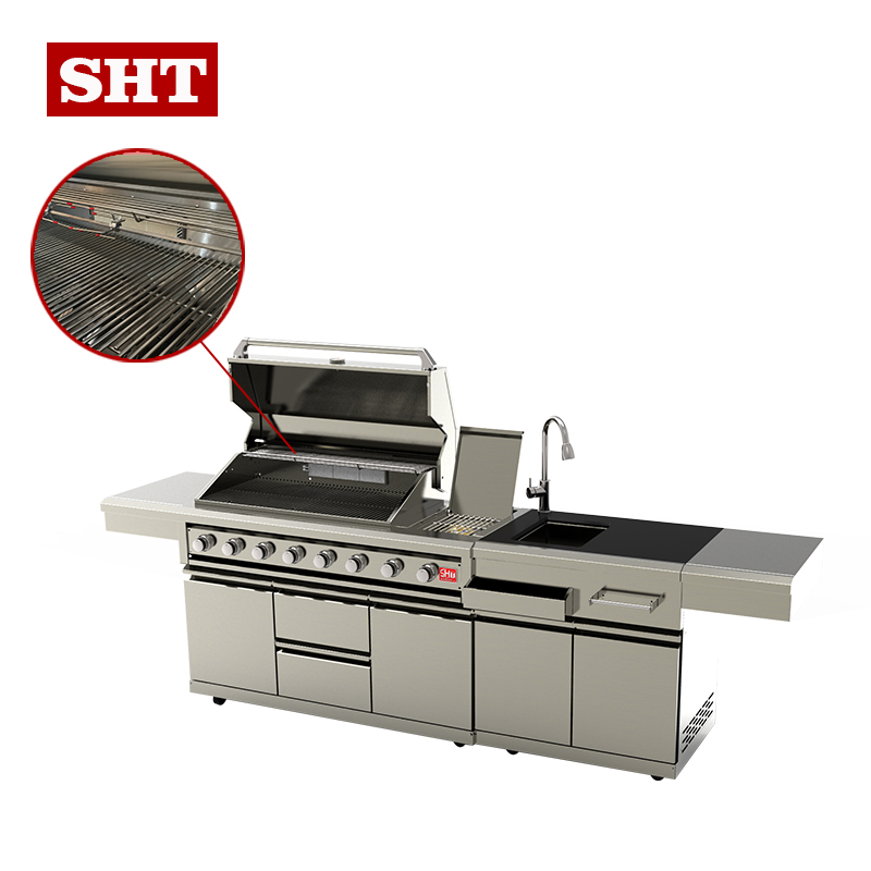 Natural Gas Outdoor Grill Bbq