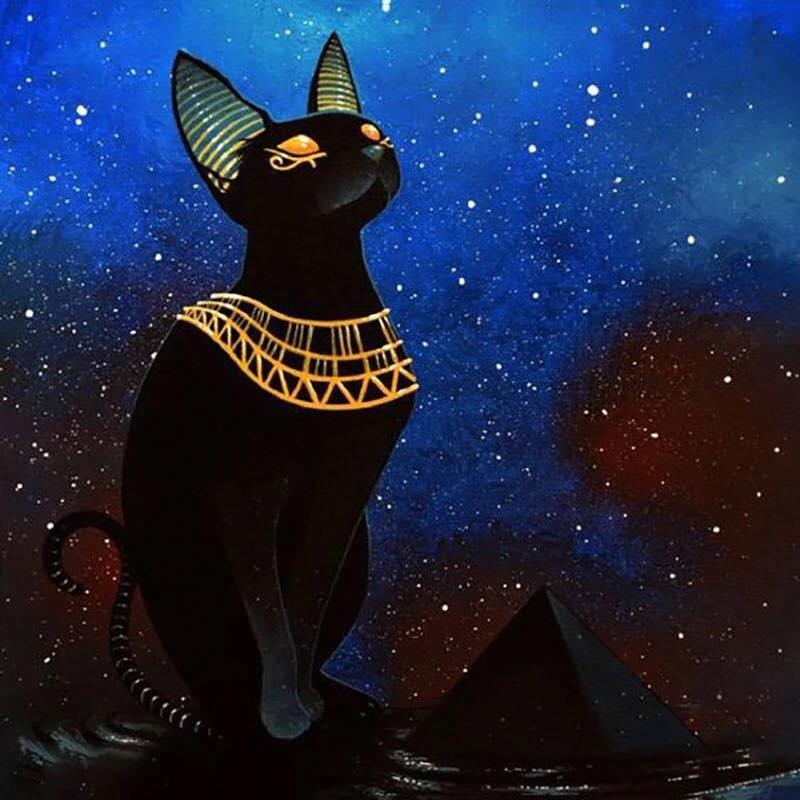 коты в египте рисунок лист это светлое