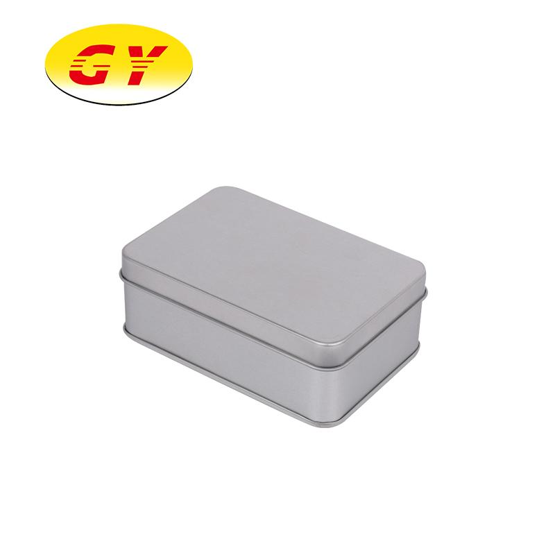 Высокое качество металлическая жестяная коробка упаковочная коробка для кофе