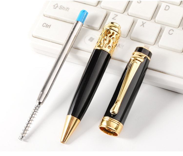 Professional Pen Manufacturer Customized Logo Accepted HIGH-END Ballpoint Pen Metal Luxury Business Promotional Gift